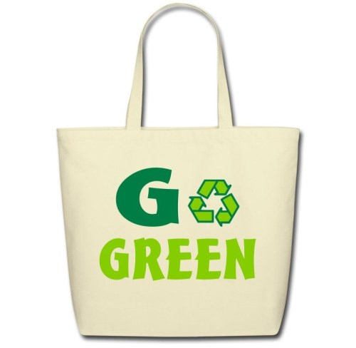 eco bags for go green